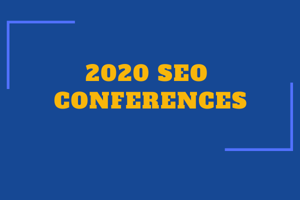 Best SEO conferences 2020 - July to December
